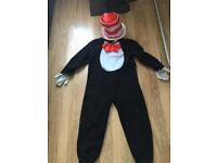 Costume Cat In The Hat Dr Seuss age 7-8