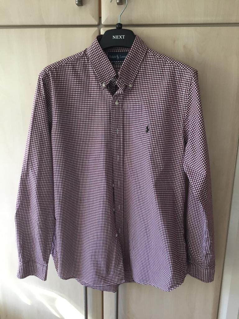 Men's Ralf Lauren shirt