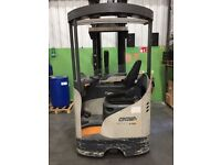 FORKLIFT CROWN REACH TRUCK 2009 FULLY WORKING ABSOLUTE BARGAIN £4250