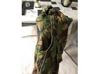 Camouflage coat waterproof