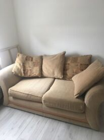 Dfs fabric sofa-bed