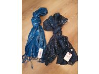 Brand New With Tags Womens Scarfs