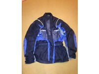 MOTORCYCLE JACKET WITH LINING