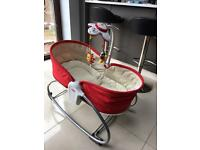 Tiny love rocker and bouncer chair