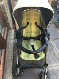 Peg Perego pushchair/ car seat/ bassinet