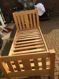 Ikea malm single bed with or without mattress