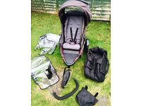 Phill and Teds Dash double buggy system.