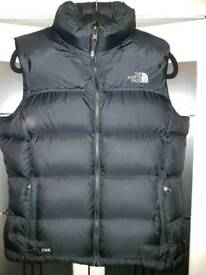Women's north face body warmer