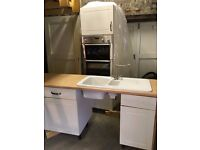 Kitchen Units for Sale - base units, sink, drawers plus majority of doors and handles