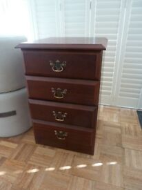 Chest of Small Drawers or Bedside Table