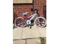 bike for girls age 4-7 working but needs a punchier repair