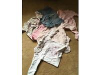 3-6 month baby girl clothes bundle