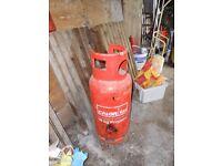 19Kg Propane Gas Bottle - nearly full