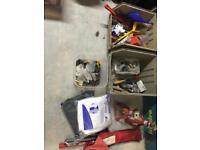Tools job lot towing screws bolts