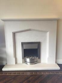 Sandstone fireplace - SOLD