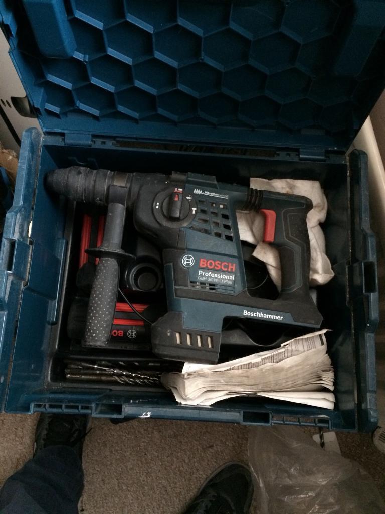 Bosch Sds 36v Be Li Plus Hammer Drill In Denny Falkirk