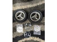 New mini moto wheels / tyres