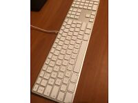 Genuine Apple Wired Numeric Keyboard - British English (ONO)