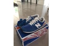 New balance ladies blue trainer size 5