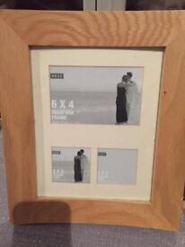 Next Oak photo frame
