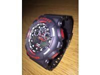 CASIO GSHOCK 5081 GA-100 (BLACK/RED)