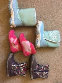 size 22 (EU)/ size 5 girl's boots autumn winter and slippers
