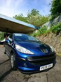 PEUGEOT 207 1.4 S VTI ONE YEAR MOT, 34k mileage, cheap tax insurance ideal first car
