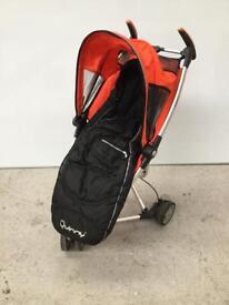 Quinny zapp orange buggy pushchair pram good condition