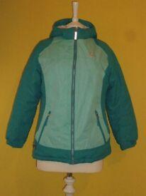 Zero Exposure Ladies Hooded Jacket Mint & Jade – Size: 10-12