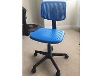 Children's adjustable swivel chair