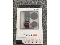 5 in 1 photo lens mobile