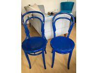 Vintage Thonet Bentwood bistro chairs