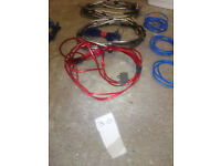 car amp wire kit and sub