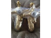 Vintage Brass bath taps