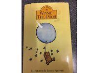 Winnie the Pooh hardback book 1982