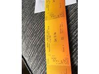 'Let it Be' tickets Royal Concert Hall Nottingham Sat 15th Sept x2