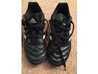 Adidas Football boots - boys size 1