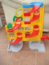 fisher price little people car ramp racer