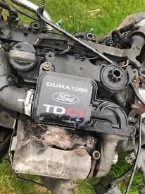 2007 Ford Fiesta 1.4 tdci complete engine and gearbox etc