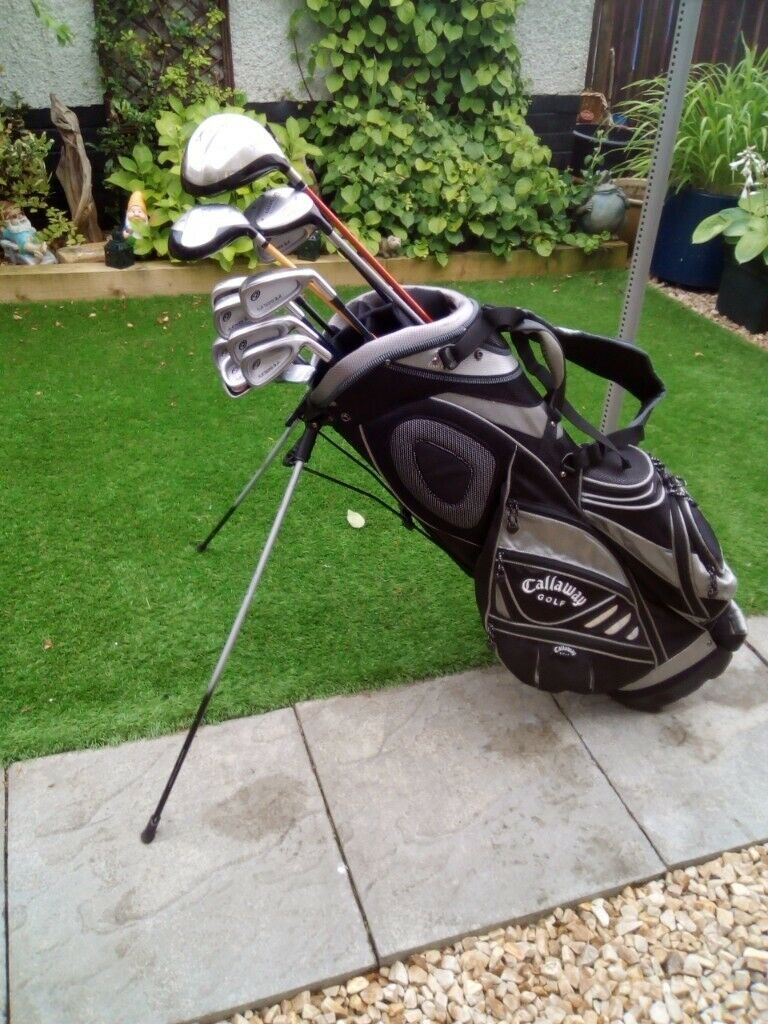 Full Set Men S Progen Nickent Golf Clubs Lightweight Callaway Bag With Stand Rain Hood In East Kilbride Glasgow Gumtree