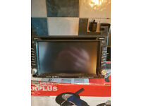 touch screen car stereo dvd player £30
