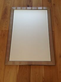 Three large identical John Lewis Framed Wall Mirrors sell individualy or as a set