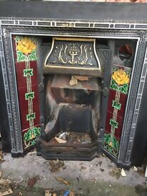 Gas fire insert for sale