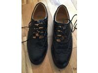 Men's Leather Ghillie Brogues UK Size 8