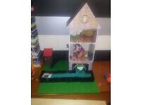 free dolls house boathouse