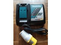 Makita DC18RC 18 v Dual Rapid Fastest LXT Battery Charger 110 volt Brand New 2018
