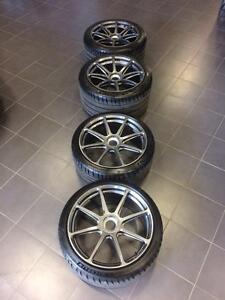 """19"""" Porsche Centerlock GT3 / GTS / Turbo S Forgeline wheels"""