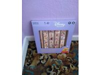 Disney age 1-4 wooden learning block new