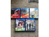 Playstation 4 games for sale as bundle or individual