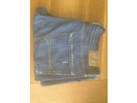 "Hollister 'Boomer' Men's Low Rise Slim Boot Jeans (34""W x 32""L) JUST REDUCED"